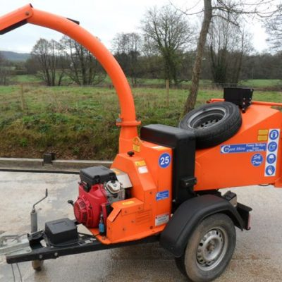 5 Inch Towable Woodchipper
