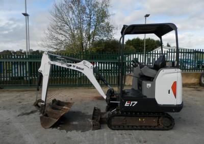Bobcat E.17 – £9,750 + VAT
